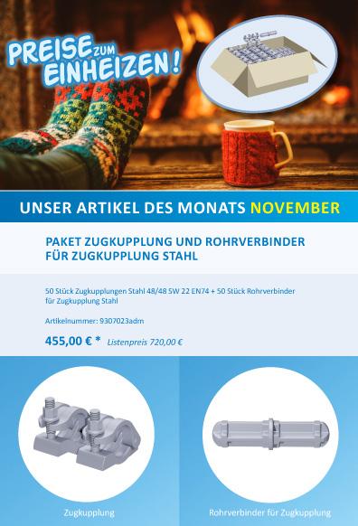 ALFIX-Angebot des Monats November 2018